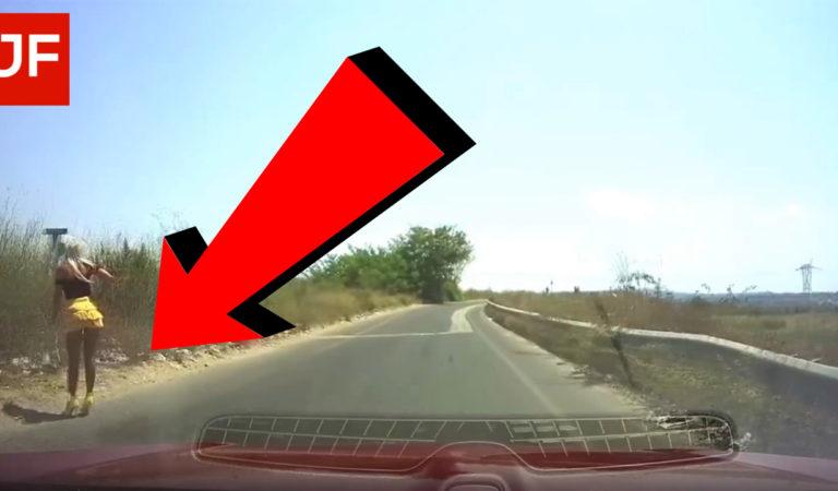 Holky, co to rady dělají u silnice