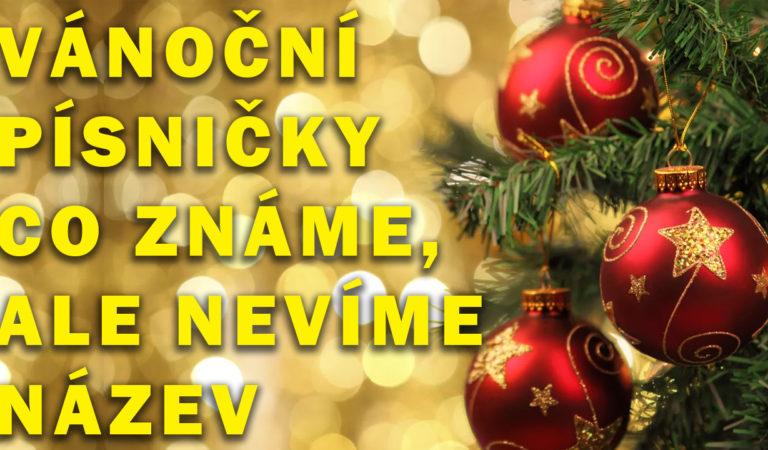 Vánoční písničky a koledy, co všichni známe, ale nevíme jejich název
