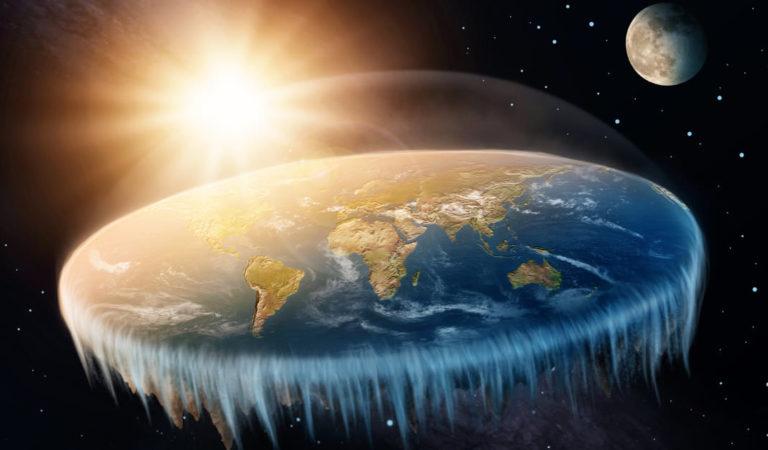 Co kdyby byla země placatá?