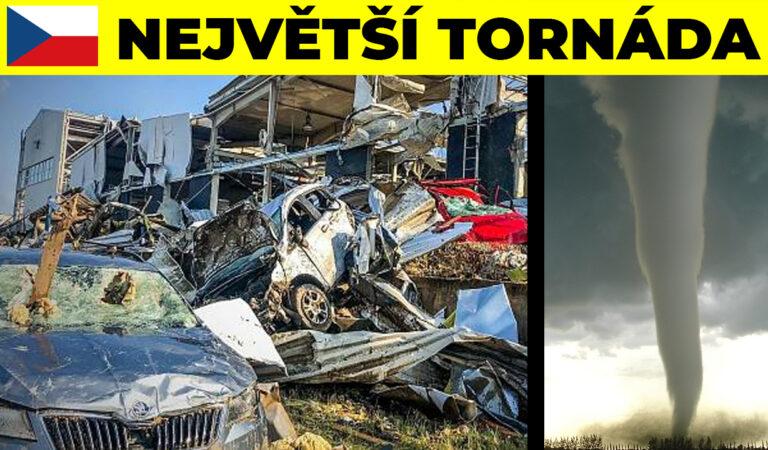 Tornádo zničilo na jižní Moravě 7 vesnic za 5 minut